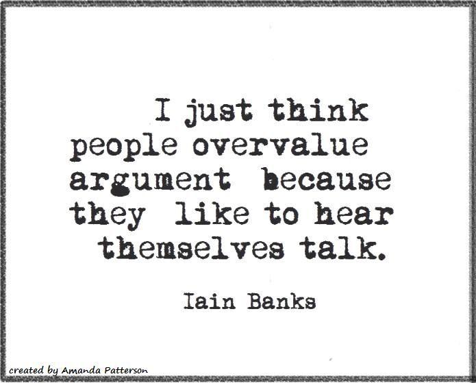 Quotable - Iain Banks