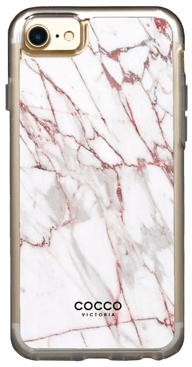 Rose Gold Exotic Marble Case - iPhone 7/6S/6