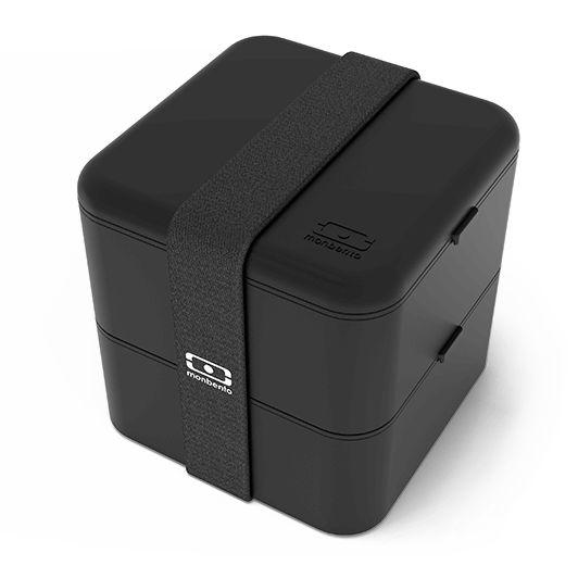 MB Square black - The square bento box