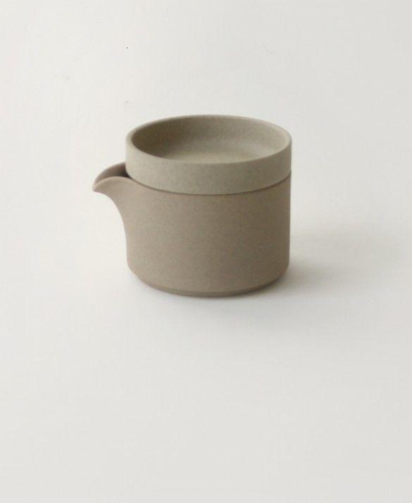 Beige Creamer- Hasami porcelain