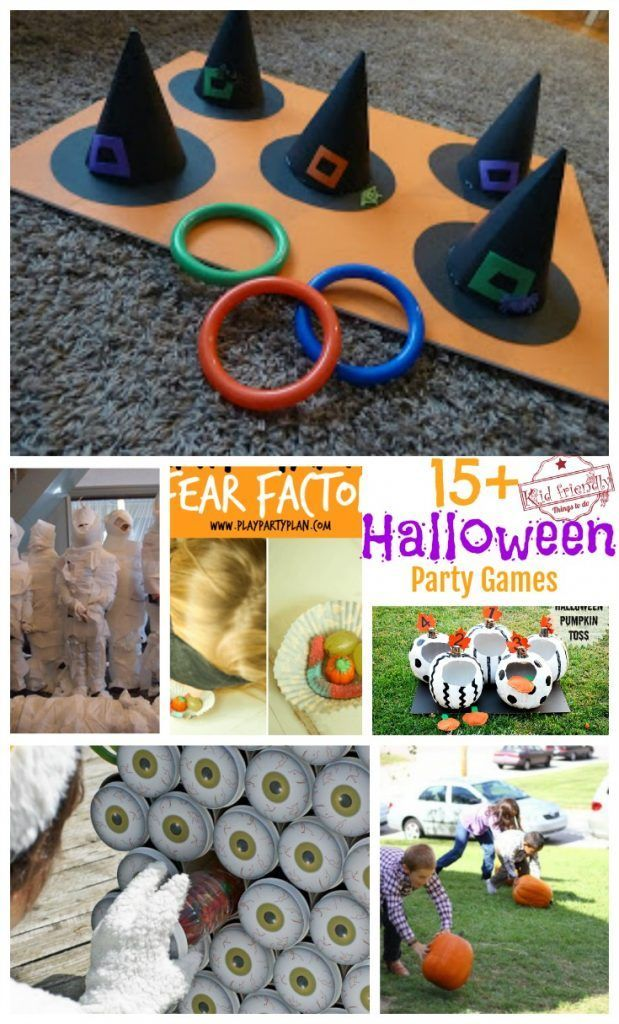 The Spider Race Game for A Halloween or Fall Party Idea