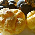 広島県【レモンケーキとブランデーケーキのミニヨンMiniyon】- シュークリーム、抹茶シュー、チョコシュー