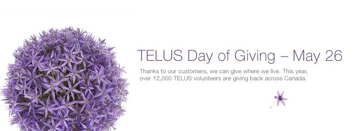 Facebook Cover - Telus (Day of Giving)