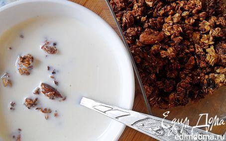 Банановые мюсли к завтраку | Кулинарные рецепты от «Едим дома!»