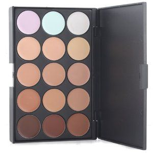 New Professional 15 Concealer Camouflage Makeup Palette BuyinCoins