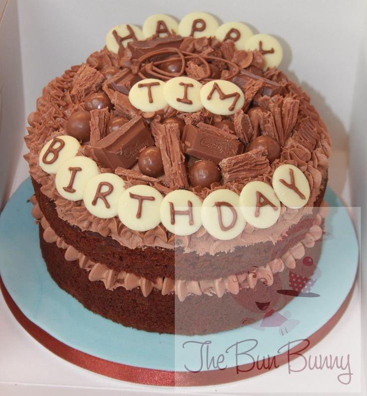 18th Birthday Chocolate Cake Chocolate Birthday Cakes