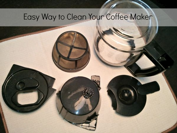 Easy Way To Clean A Coffee Maker : 1000+ ideas about Coffee Pot Cleaning on Pinterest Vinegar shower cleaner, Cleaning with ...