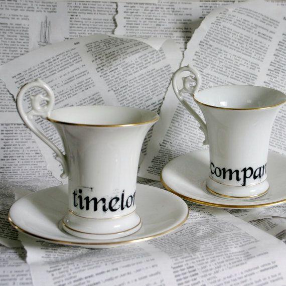 need.Vintage Teacups, Companion Altered, Teas Cups, Vintage Wardrobe, Doctors Who, High Teas, Companion Teacups, Theme Timelord, Altered Vintage