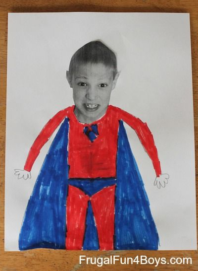Transform yourself into a super hero or your favorite character!