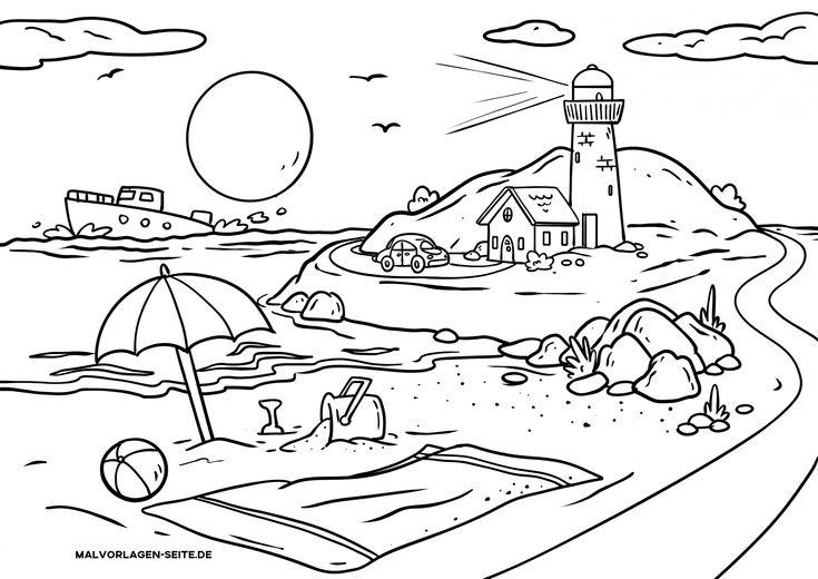 malvorlagen kostenlos landschaftsbilder  pencil drawings