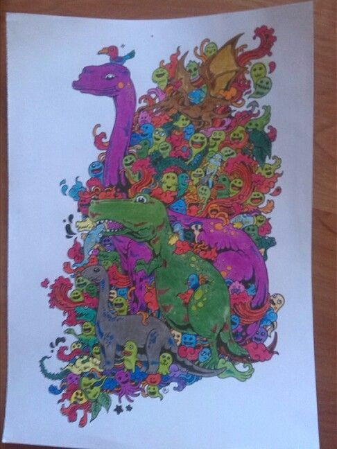 Doodle prehistoric:-)