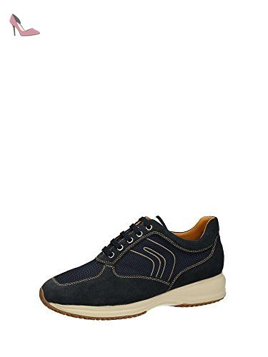U Dennie A, Sneakers Basses Homme, Gris (Anthracite), 45 EUGeox