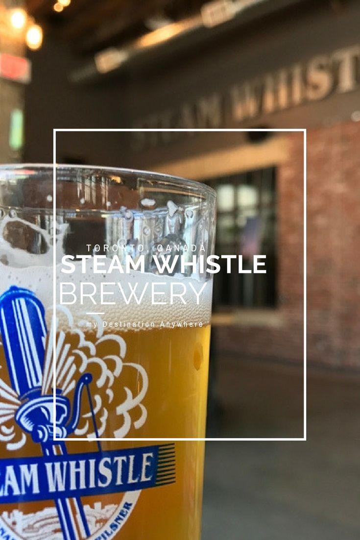 Steam Whistle Brewery: Visitando uma Cervejaria em Toronto