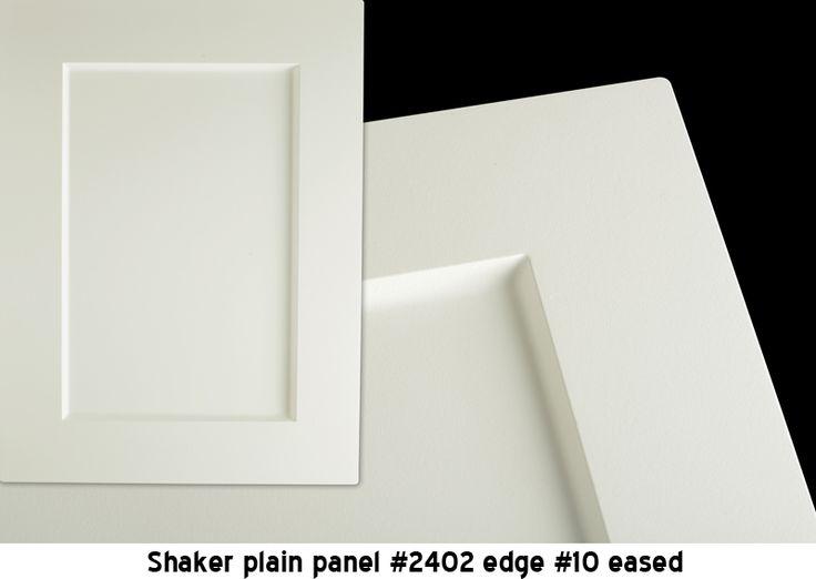 shaker door cabinet beveled edge - Google Search