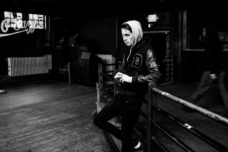 G-Eazy on the AMW tour summer of '13.