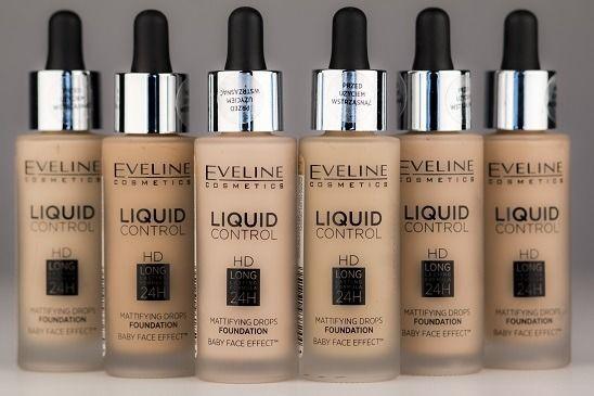Podkład Eveline Cosmetics Liquid Control HD - Wideo Wizaz.pl