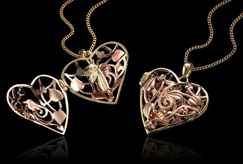 Clogau Welsh Gold Fairy Locket