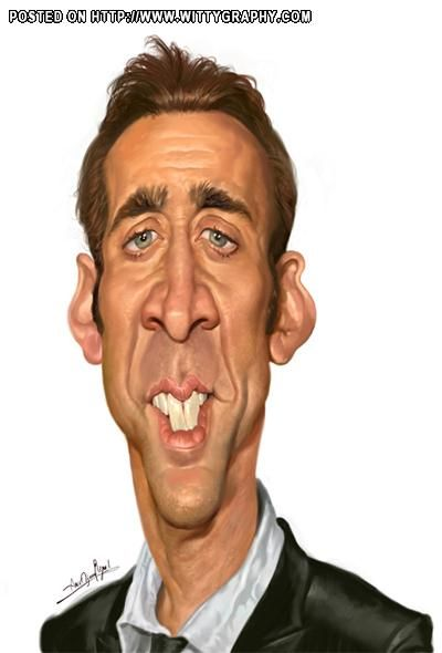 """Nicolas Cage ** The PopDot Artist ** Please Join me on the Twitter @Alabama Byrd & Be my Friend on the FaceBook --> http://www.facebook.com/AlabamaBYRD **  BIG BYRD HUGS & SMILES & PRAYERS TO EVERYONE IN NEED EVERYWHERE **  ("""")< Chirp Chirp said THE BYRD http://www.facebook.com/AlabamaBYRD"""