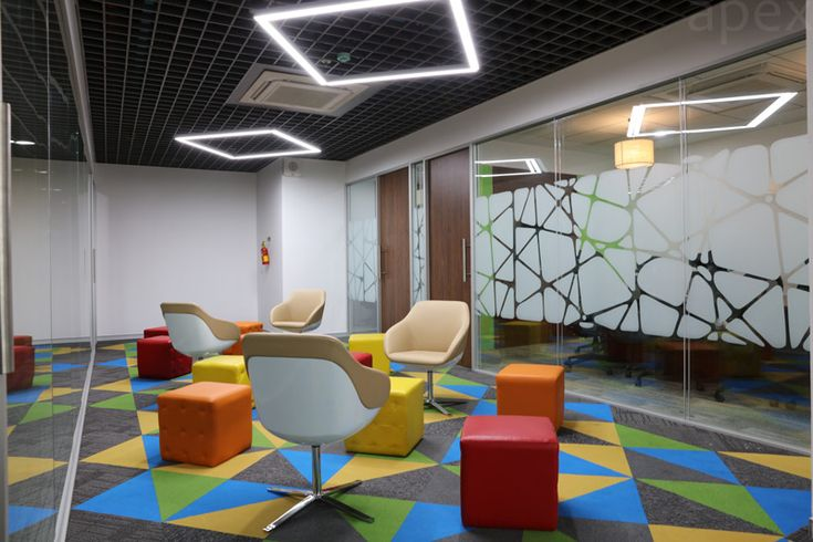 Breakout Area In Office Apex Projects Mumbai Apex