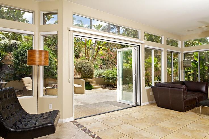LaCantina Doors Aluminum bi-folding door system & 52 best Aluminum bifold doors images on Pinterest | Folding doors ...