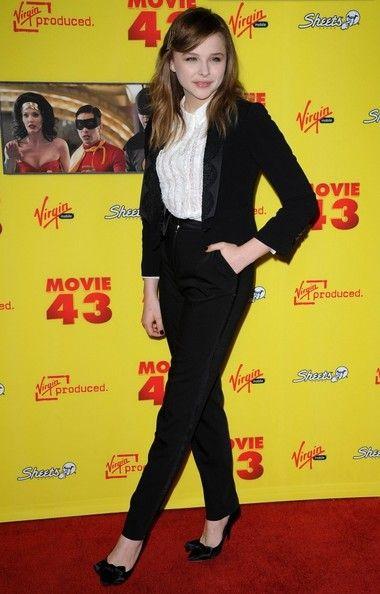 "chloe moretz movie 43 | Chloe Grace Moretz Los Angeles Premiere of ""Movie 43""..Grauman's ..."