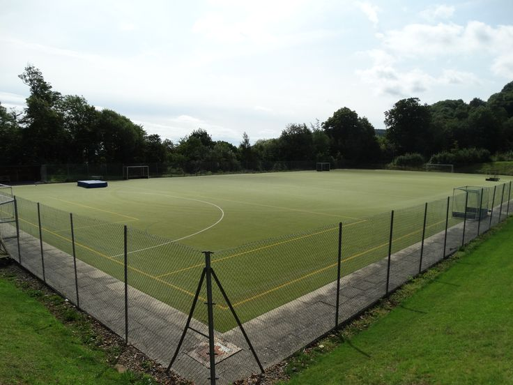 It might have rained yesterday, but our astro turf (all weather pitch) means the show can go on! Which sport shall we play?