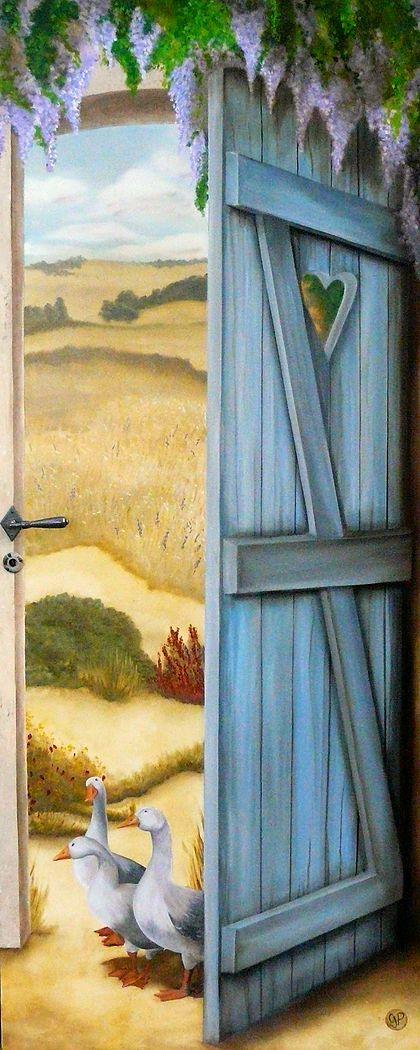 Trompe l'oeil (Gers): ATELIER K, trompe-l'oeil & peinture de décor