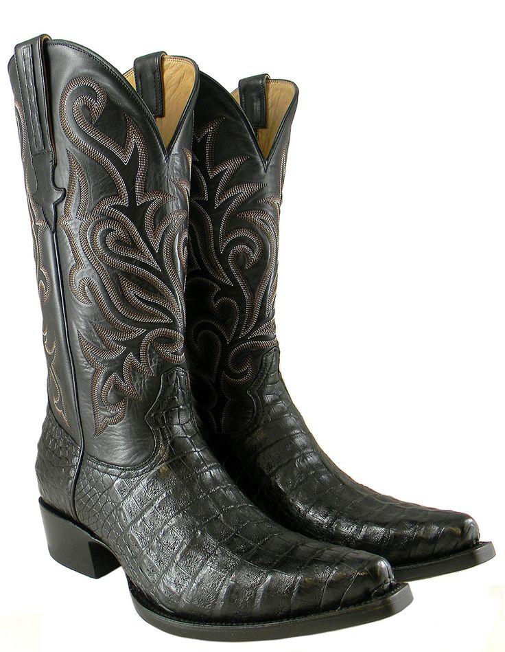 Heritage Boot » Black Jack Caiman – Snip Toe