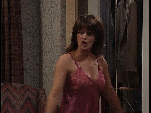 patricia Richardson red nightie -009   Droop Along   Flickr