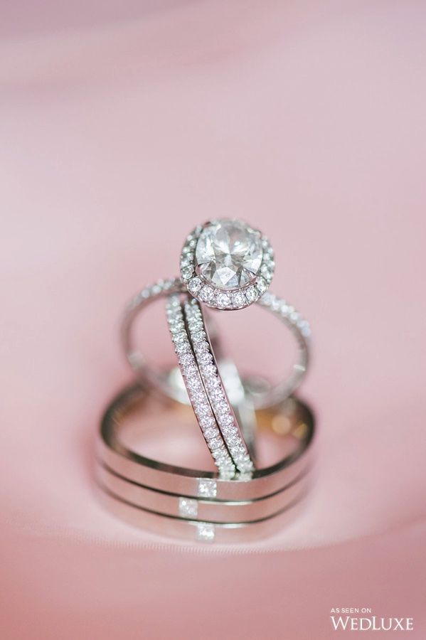 This Engagementring And Weddingband Are A Match Made In Heaven