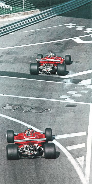 Jody Scheckter - Gilles Villeneuve - Ferrari 312 T4 - Monaco 1979