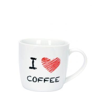 I Love Coffee bögre