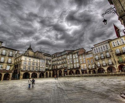 Ourense, Galicia on a rainy day! Gallaecia (Northern Portugal, Galicia and Asturias) its one of the regions in Europe with the highest rainfall