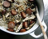 "LORIS CHICKEN BOG   |   is a kind of PURLOO (a.k.a. PILAF or PILAU) — Recipes adapted from ""THE FOOD, FOLKLORE, AND THE ART OF LOWCOUNTRY COOKING"" by Joseph E. Dabney"