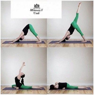 Йога для красивых ягодиц и стройных ног | Женское кредо