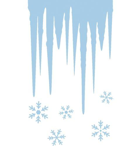 Winterdecoratie ijs sjablonen  IJspegel raamsjabloon. Ijspegel raamsjabloon met sterren. Zelfklevende ijspegel sjablonen voor op het raam. Een zak met ijspegel raamsjablonen op A4 formaat.  EUR 4.99  Meer informatie