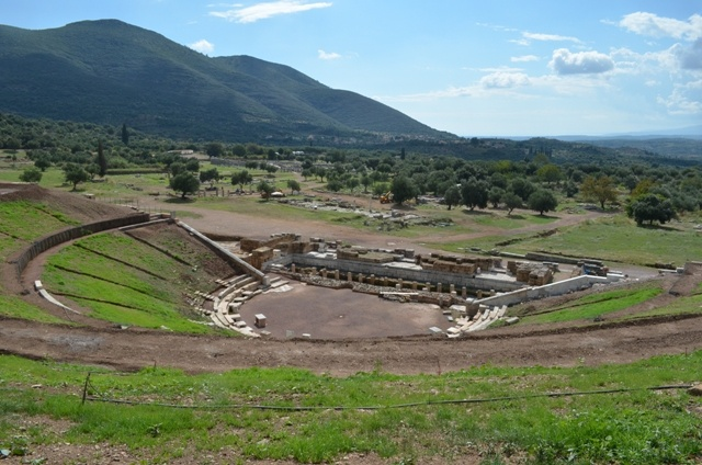 Ancient Messinia, the theater