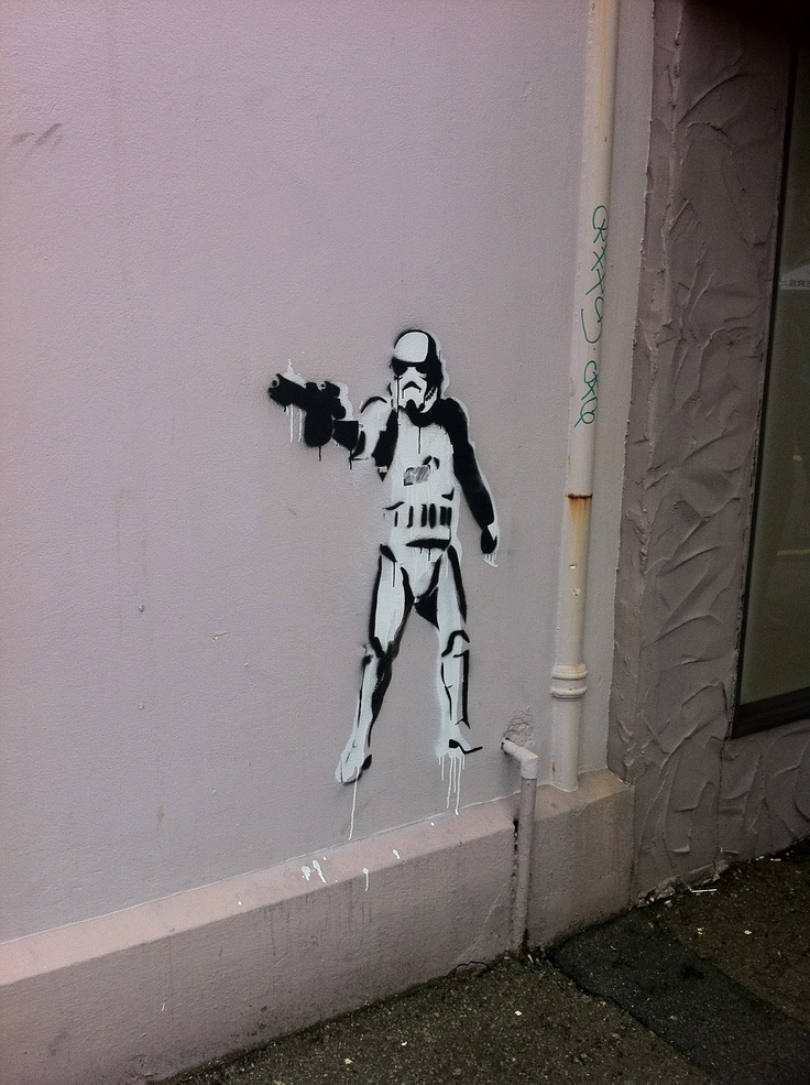 star wars stormtrooper stencil art