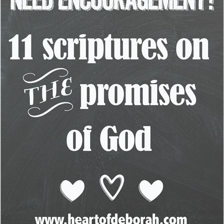 11 scriptures on the promises of God