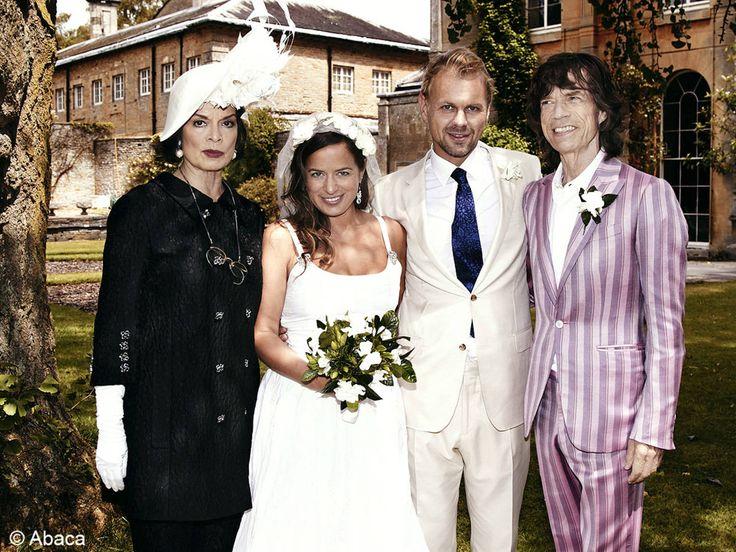 le mariage de Jade Jagger et Adrian Fillary / Les meilleures photos de mariage de stars