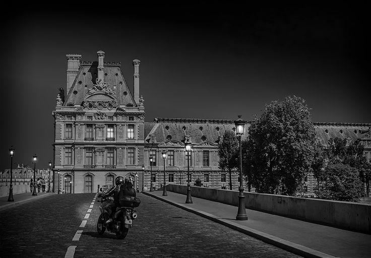 Photographie, Fine Art, Photography, Paris, La Seine, Pont Royal, Black & White