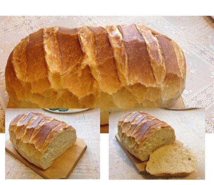 Friss ropogós házi kenyerem - Gyors kovászos kenyér - MindenegybenBlog