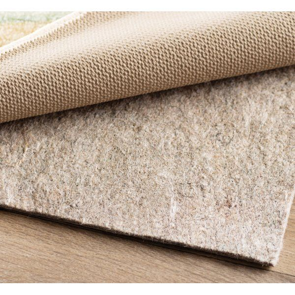 You Ve Found The Perfect Area Rug To Tie Your Ensemble Together But Before You Roll It Out Be Sure To Set Down This Non Slip Rug P Rug Pad Area Rug