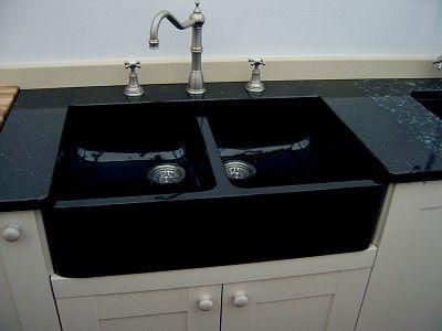 black farmhouse kitchen sinks. Black Double Kitchen Sink  farmhouse style black sink against white cabinets 142 best I KITCHEN SINKS images on Pinterest sinks