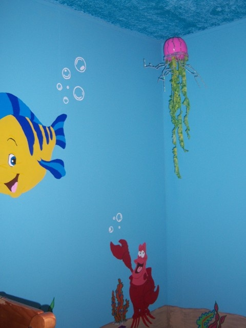 46 best painting ideas images on pinterest ideas for for The little mermaid fish