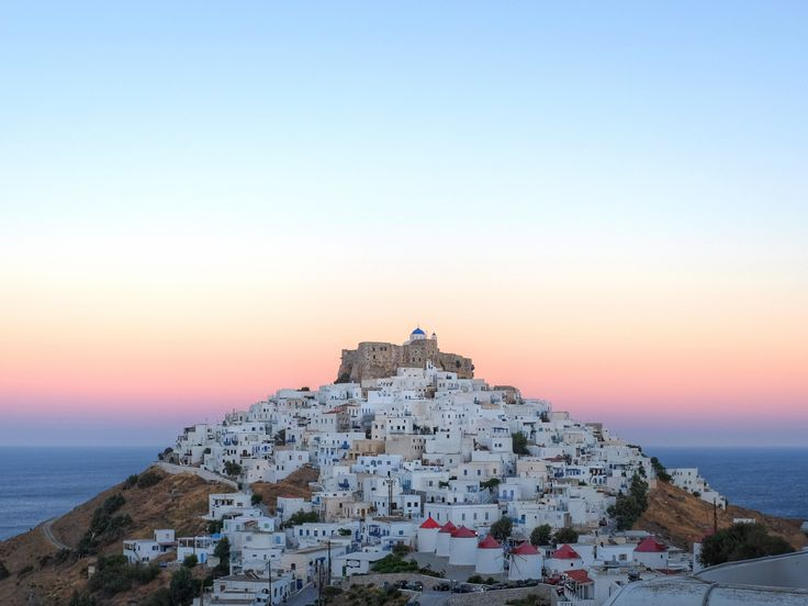 Blue hour on the Castle of Guerin Astypalea Greece. http://ift.tt/2y22VOu