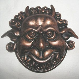 Labyrinth Door Knockers by BleepBloopCostumes on Etsy, $40.00