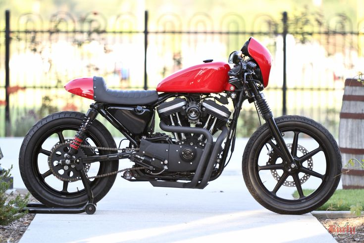 A very sweet Cafe Sportster from @Burly Brand