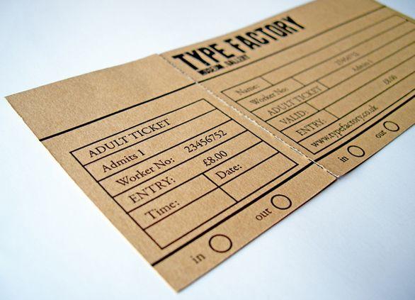 59 best Ticket design images on Pinterest Event tickets, Ticket - concert ticket layout