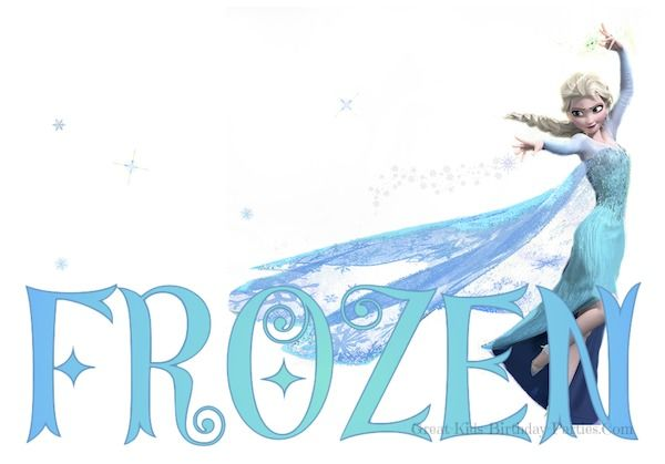 Free Frozen Font - Fun and whimsical fonts.